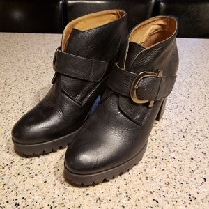 Eric Michael leather boots SZ 8